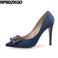 Size 33 Pointed Toe Plus 12 44 Stiletto Bridal 4 34 Blue 10 42 Ladies Red