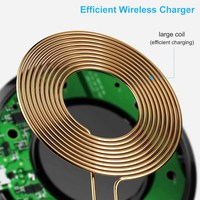 FDGAO 10W Qi Wireless Charger for iPhone 11 X XS XR 8 Quick Charge 3.0 Fast Wireless Charging Pad for Samsung S9 S10 Xiaomi mi 9 2
