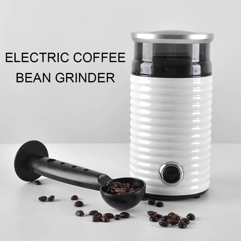 Electric Coffee Grinder Mini Kitchen Salt Pepper Grinder Coffee Bean Mill Burr Grinder Household Grinding Machine EU Plug dl 92k coffee grinder mill electric crusher multifunction household electric coffee grinder grinding machine pepper mill delta