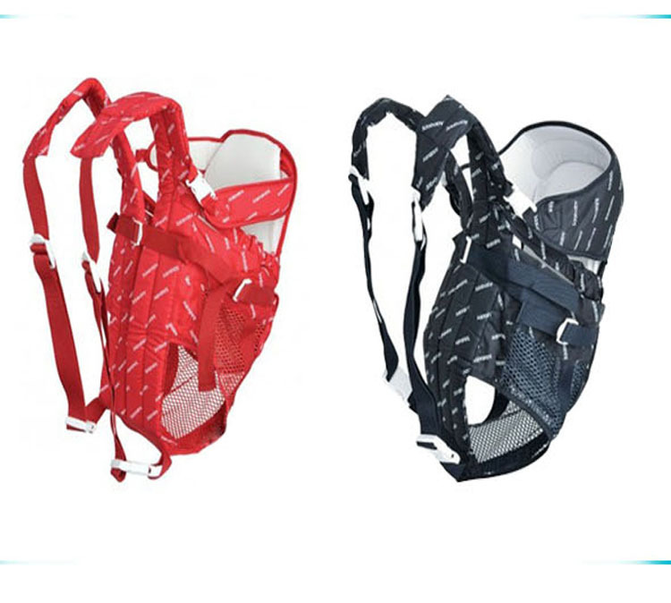 Wholesale - Six In One Baby Carrier Infant Red and Blue Backpack Sling Comfort baby carry Backpack Sling pet carrier backpack red