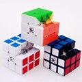 Dayan 5 zhanchi cubo de la velocidad mágica cubo mágico puzzle ultra-suave profesional clásico pegatinas de juguetes para los niños
