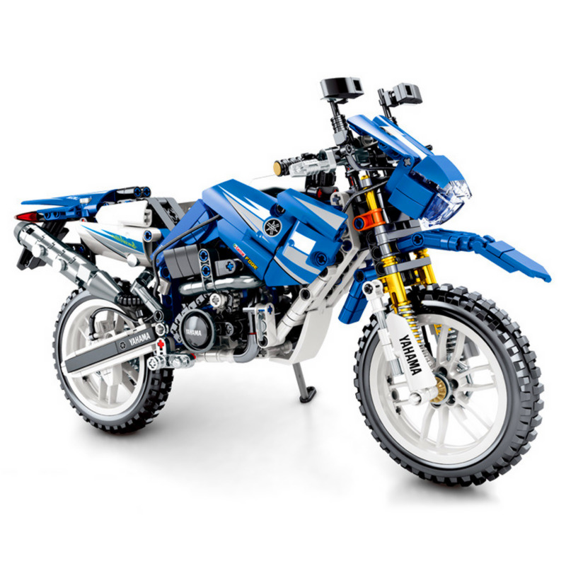 Technic Creator WR250 off-Road Motorcycle Building Blocks Set Bricks Classic Model Kids Toys Children image