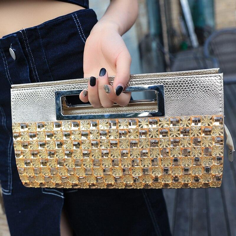 2019 ženska Rushed Diamonds nova torbica z diamantnim valom ženska - Torbice - Fotografija 4