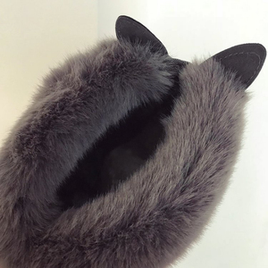 Image 3 - SWYIVY שלג מגפי נשים 2019 אישה חורף קרסול מגפי חמוד ארנב שחור נעליים יומיומיות אישה נעלי קטיפה עם פרווה Bottine Femme
