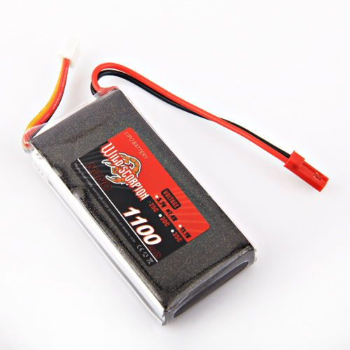 1pcs Wild scorpion 7.4V 1100MAH 25C 2s High Power lipo battery For RC Quadcopter Drone Helicopter Car Airplane 1pcs wild scorpion rc lipo battery 11 1v 2200mah 35c li polymer rc battery for rc quadcopter drone helicopter car airplane