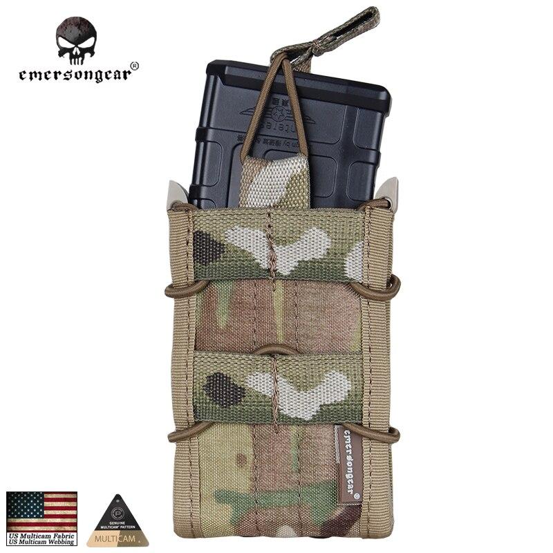 Prix pour Emersongear Armée Wargame Mag Simple Magazine Pouch Armée Militaire MOLLE Camouflage Multicam Coyote EM6345 pour M4/M14/AK/G3/G36