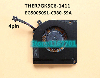 New Laptop/Notebook CPU Cooling Fan For MACHENIKE F117 Break F117-B2 F117-B6 Vulcan Z6 S5 MECHREVO Z2 EG50050S1-C380-S9A GK5CN61