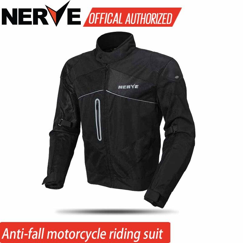 Veste de Moto équipement de Motocross nerveux été maille hommes Oxford tissu Street Bike course veste de Moto, protéger