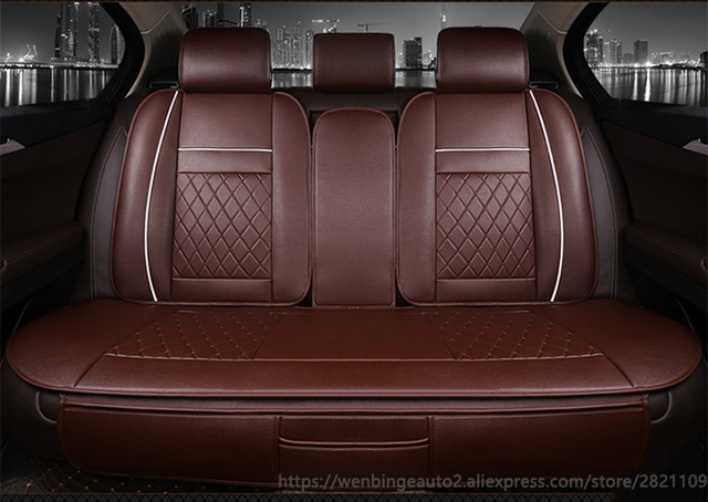 Only Car Rear Seat Covers For Fiat Uno Palio Linea Punto Bravo 500 Panda SUV