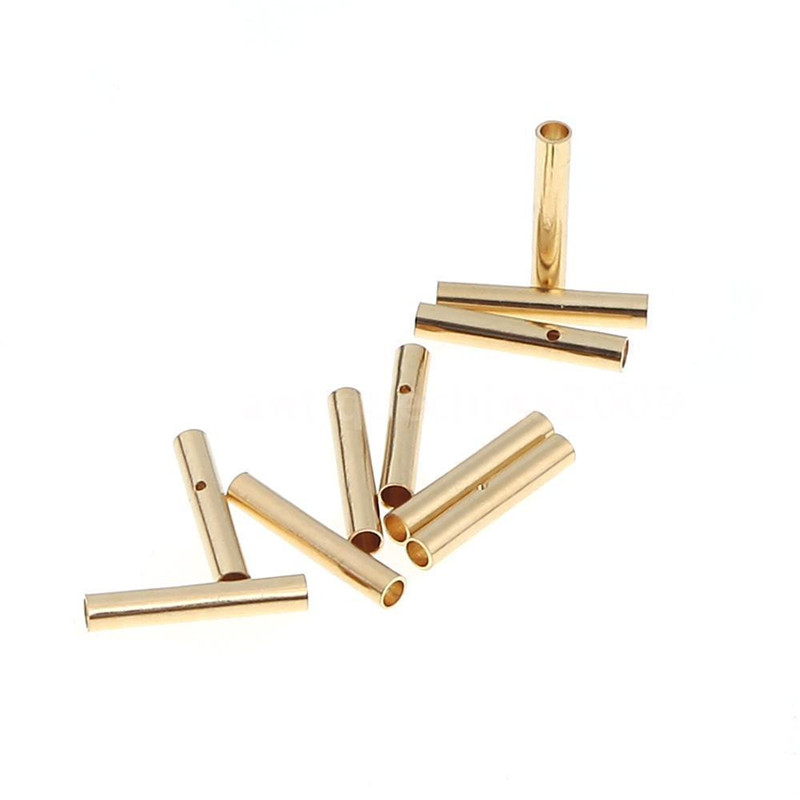 10 Pair/lot Brushless Motor High Quality Banana Plug 2.0mm 2mm Gold Bullet Connector Plated For ESC Battery
