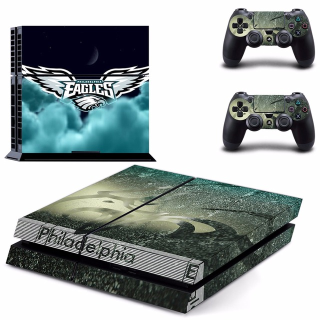 Philadelphia Eagles PS4 Skin Sticker Decal for Sony PlayStation 4 ...