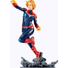 MARVEL SERIES Captain Marvel PVC Action Figure toy