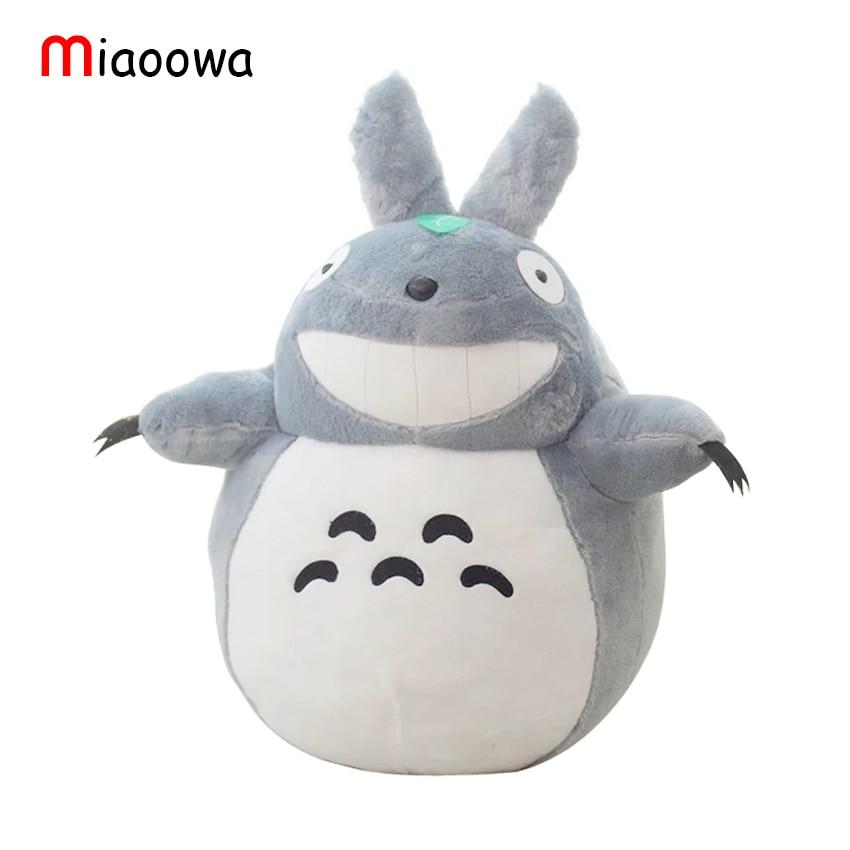 1pcs 60cm Stuffed Animal Totoro Cartoon Movies Plush Toys Baby Toy High Quality Dolls Girls Gift Free Shipping