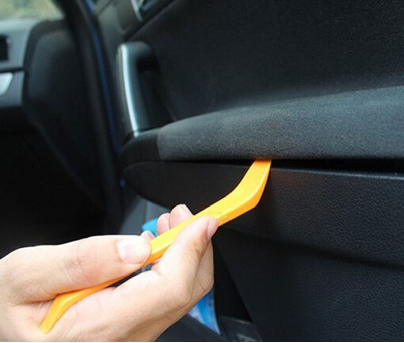 12 Pcs SeT Plastic Car Radio Door Clip Panel Trim Dash Audio Removal Pry Tool Repairing in Hand Tool Sets from Tools