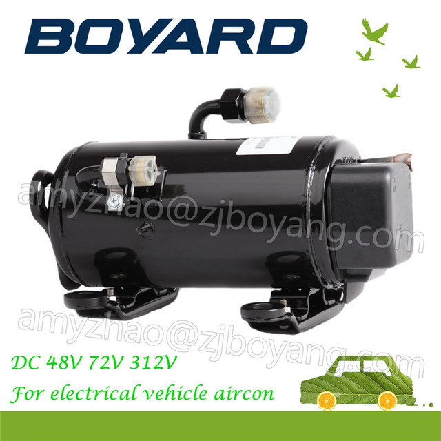 Zhejiang Boyard R134a Bldc Electric Vehicle 72v Ac Compressor For Automotive Air Conditioner Spare Parts