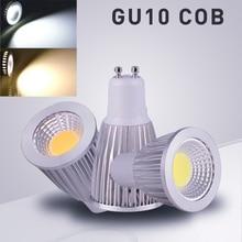 цена на 1PCS Super Bright GU10 LED Bulbs Dimmable AC110v-220v 9w 12w 15w LED Lamp Light e27 gu5.3 e14 b22 (mr16 12v) Led Spotlight bulb