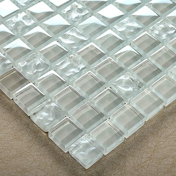 transparent crystal glass mosaic tiles HMGM2090 for