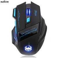 Mouse New Fashioin 2 4GHz 6D 3200 DPI Wireless Mouse LED Optical Gaming Mouse For Laptop