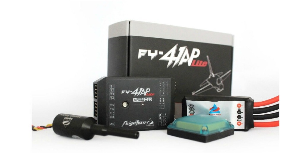 FEIYU FY-41AP Lite AFSS Autopilot & OSD System for Fixed-wing Aircrafts RTL FPV new product fy dos m autopilot system for rc uav multi rotors