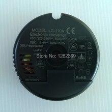 LC 110A 220 240 V EURO Unabhängige 40 110 Watt Elektronische Stromrichtertransformator Für 12 V Halogen Lampen Beleuchtung zubehör