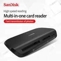 SanDisk USB3.0 high speed multi in one card reader SDDR 489 type a interface
