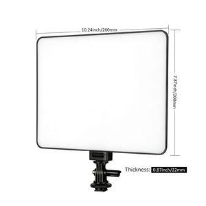 Image 2 - Viltrox VL 200 פרו אלחוטי מרחוק LED וידאו סטודיו אור מנורת Slim דו צבע Dimmable + AC מתאם + 2M אור stand עבור מצלמת וידאו