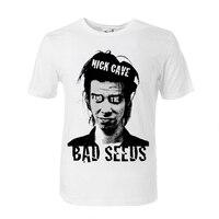 Nick Höhle und die Schlechte Samen druck t-shirt modale baumwolldünne stil
