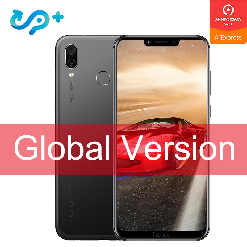 Original Global Version Huawei Honor Play 4G 64G 6.3 inch Kirin 970 Octa Core Mobile Phone Dual Rear Camera game phone Face ID