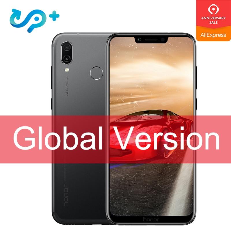 Version originale mondiale Huawei Honor Play 4G 64G 6.3 pouces Kirin 970 Octa Core téléphone Mobile double caméra arrière jeu téléphone Face ID