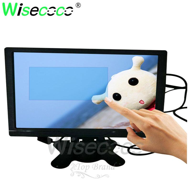 10,1 Zoll Wxga Kapazitiven Touch Monitor Mini Tv & Computer Display Screen-monitor Mit Lautsprecher Vga Hdmi Für Mini Pc /tragbare Dauerhafter Service