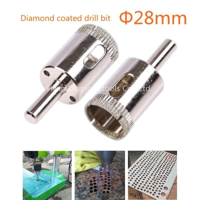 10 mm Diamant Forets trou Scies pour verre céramique porcelaine Carreaux 5 pcs