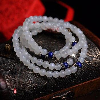 Natural ice kinds of moonstone beads bracelet stone