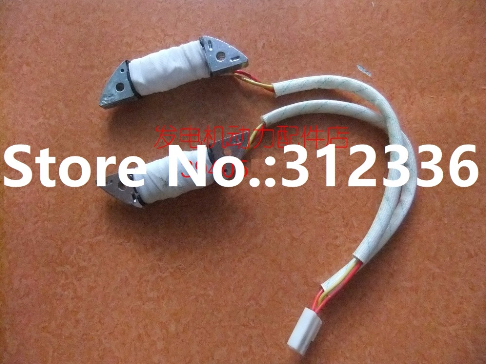 Free shipping Lighting coil Charger Charging coil Gasoline generator suit for GX160 GX390