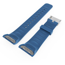 Bracelet en silicone Bracelet Pour Samsung Gear Fit2 SM-R360 GPS Sport Intelligent Bandes Fitness Montre Activité Tracker