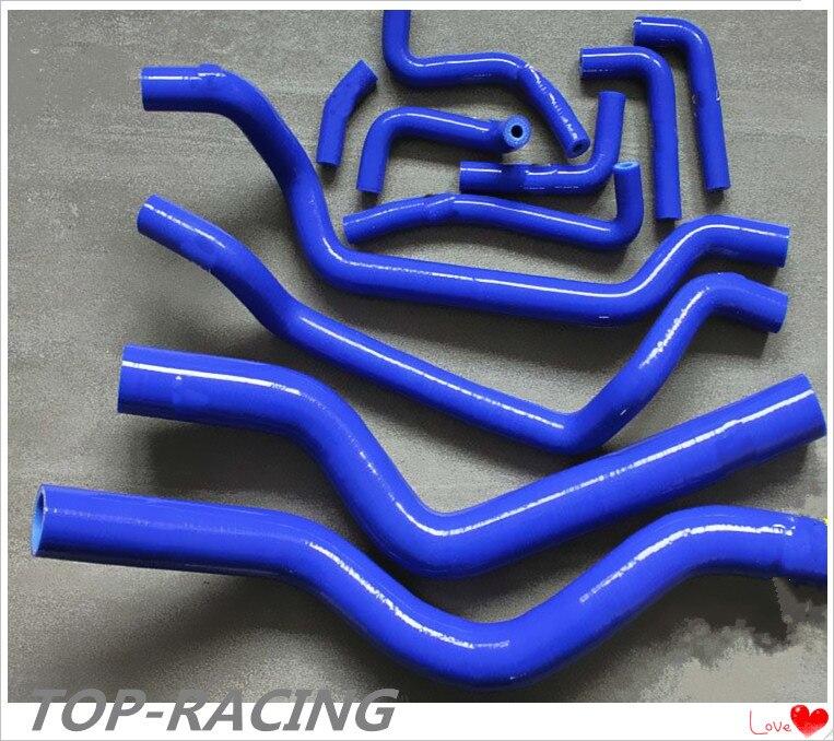 silicone radiator / heater hose for Mitsubishi PJ Eclipse GSX/GST/EAGLE TALON TSI 4G63T 1995-1999 silicone hose for mitsubishi eclipse pse gst gsx turbo 1990 1994 1993 1992 1991