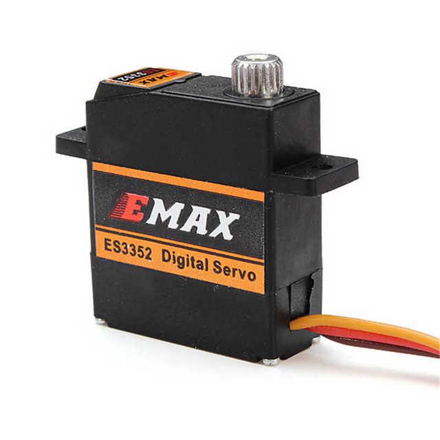 EMAX ES3352 12.4g Mini Metal Gear Digital Servo for RC Airplane Suitable For Futaba/JR Plug Type