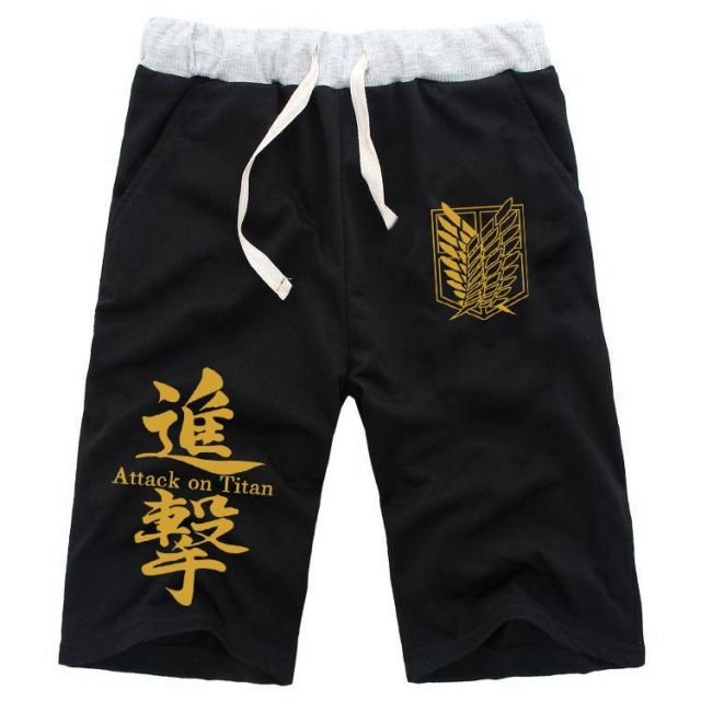 Attack On Titan Cosplay Shingeki no Kyojin Elastic Shorts