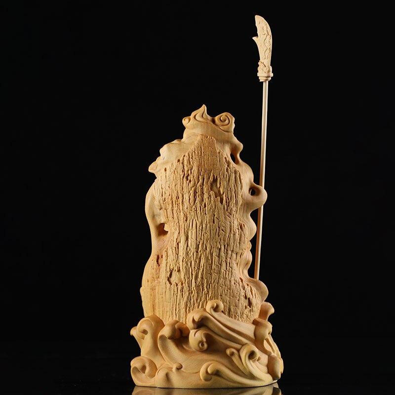 Wooden Guan Yu Feng Shui Figure 3