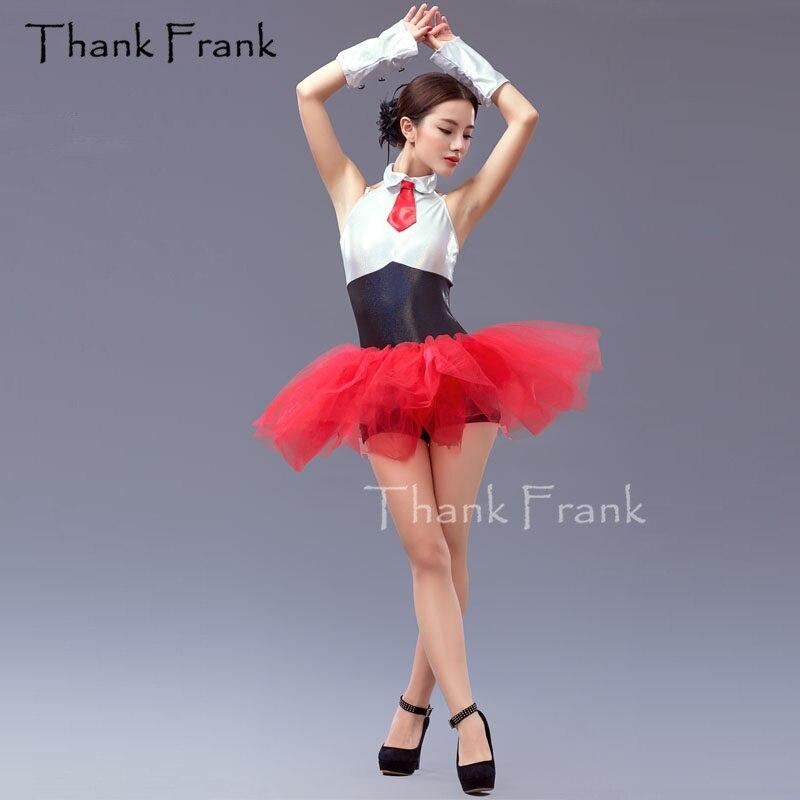 2 piece Sexy Ballet Tutu Dress Girls Adult Dance Costume Including Unitard And Skirt Thank Frank