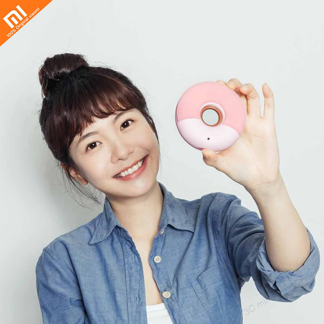 new Xiaomi Mijia Smart home Small Cleansing Facial Cleanser Cleansing Massager Deep Cleansing Sonic Beauty Cleansing