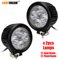 4.7 Inch Round 40W Led Work Lights Replace John Deere RE19079, AR85260, RE12718 Tractor lamps Car 4x4 off road lights x2pcs