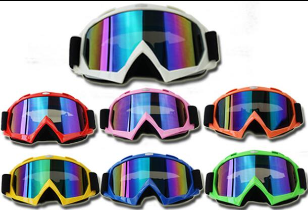 New Ski Snowboard Snowmobile Bike ATV UV Protection Off road Goggles FITS OVER RX GLASSES Eyewear