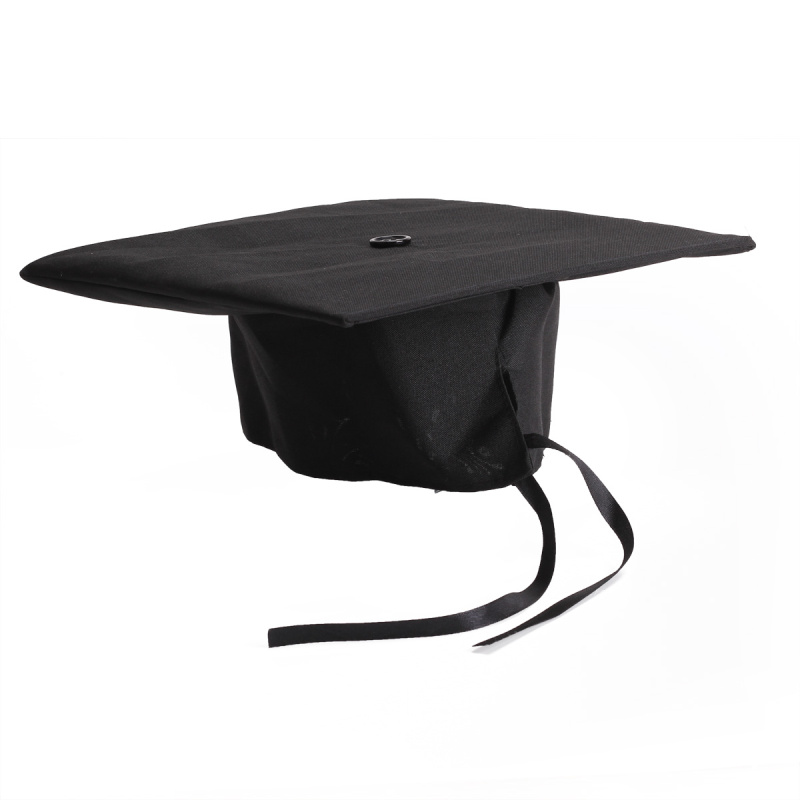 Student Tassel Decor Graduation Cap Bachelor Degree Hat University School Ceremony Costume Accessories Head-wear