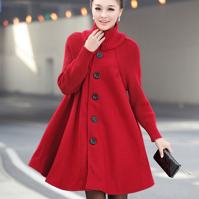 Maternity-Clothes-New-Autumn-Winter-Fashion-Loose-Thicken-Pure-Color-Cloak-Single-breasted-Coats-Clothes-for (2)