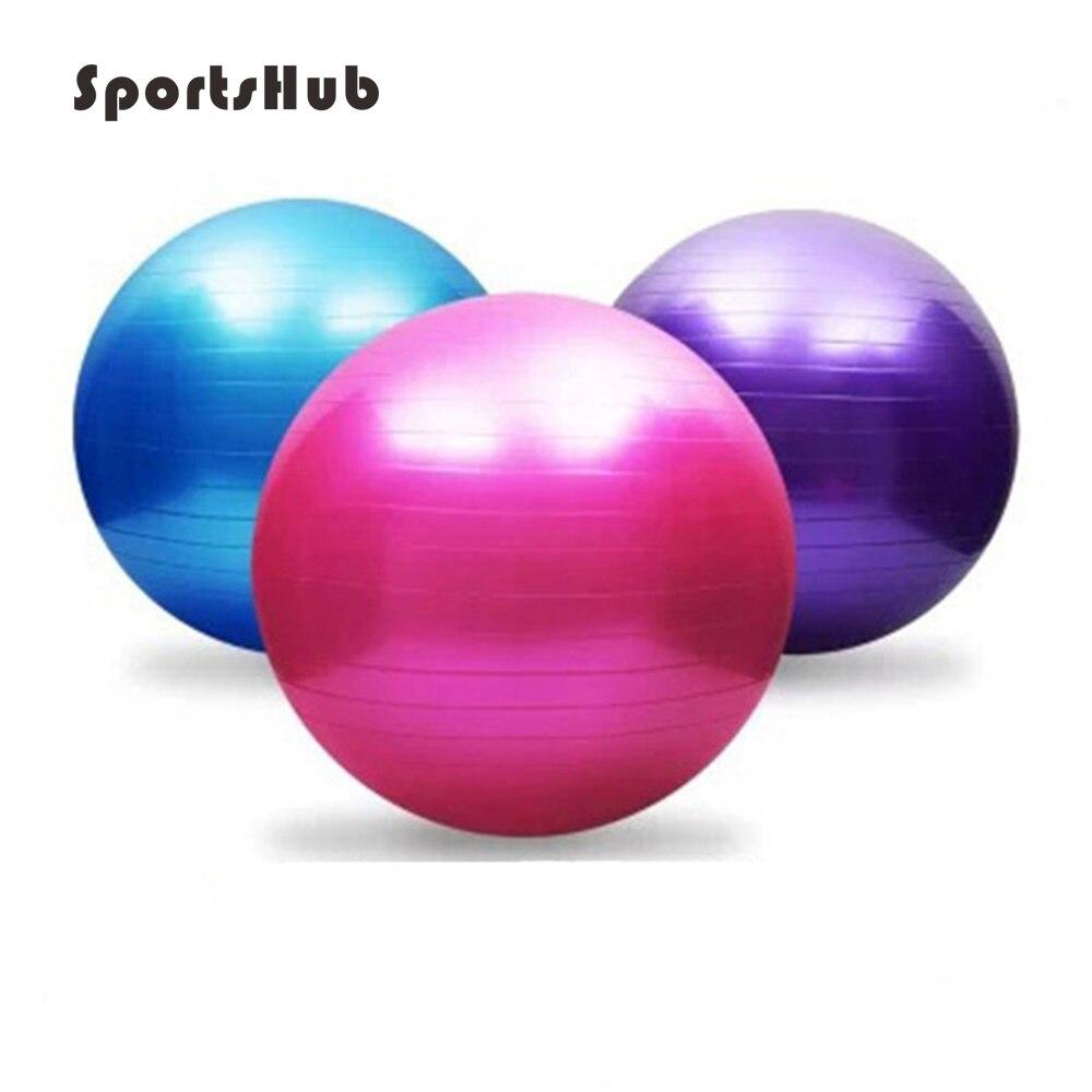 Utilitário SPORTSHUB 55 CM Yoga Bola de Fitness Bolas de Yoga Pilates  Esporte Equilíbrio Fit ball Bolas À Prova para o Treinamento da Aptidão  EF0015 87c8f8a1f6