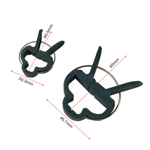 Image 3 - 31pcs/set plant clips Tomato Clips for plants Trellis Flower Vegetable Binding and Clip Set  Binder Binding Wire Plant Clip