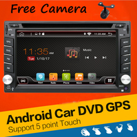 Universal 2 Din Android 4 4 Car DVD Player GPS Wifi Bluetooth Radio 1GB CPU DDR3