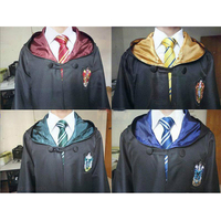 High Quality Harry Potter Robe Gryffindor Cosplay Costume Kids Adult Harry Potter Robe Cloak 4 Styles