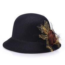 [FCY] hat lady summer new linen fashion sunshade outdoor sunscreen bonnet straw top