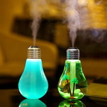 400ml LED Lamp Air Ultrasonic Humidifier for Home Essential Oil Diffuser Atomizer Air Freshener Mist Maker